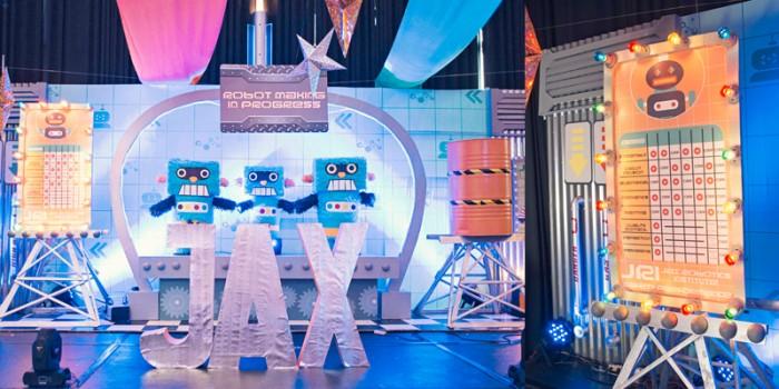 Jax: A Robotic Space Station Party